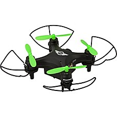 image of Sky Rider Mini Glow Quadcopter Drone with Wi-Fi Camera in Black