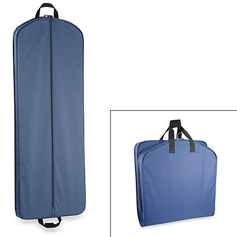 WallyBags® 60-Inch Gown Length Garment Bag in Navy