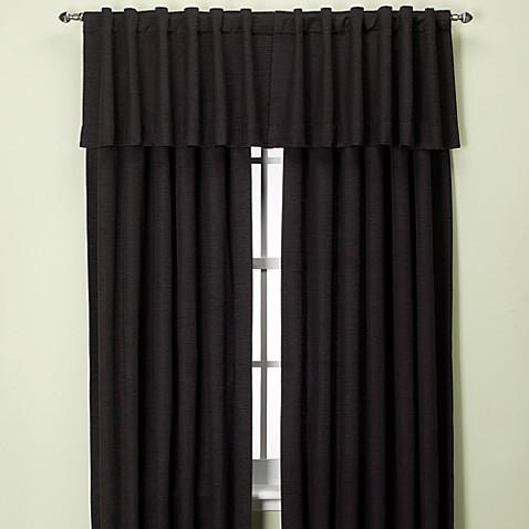 Union Square Rod Pocket Back Tab Window Curtain Panel And