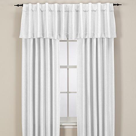 Reina Rod Pocket Back Tab Window Curtain Panel Bed Bath