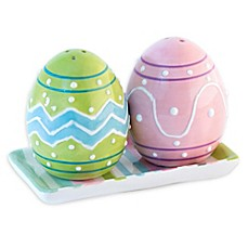 Boston International Hoppy Easter Salt and Pepper Set with Tray  sc 1 st  Bed Bath u0026 Beyond & easter dinnerware | Bed Bath u0026 Beyond