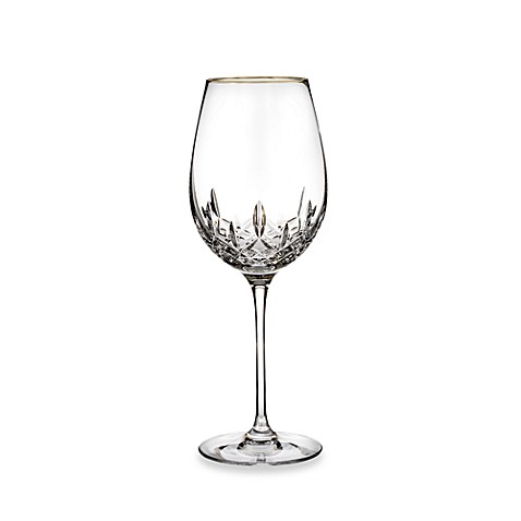 Waterford® Lismore Essence Gold Goblet