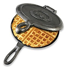 image of Rome Industries® Old Fashioned Cast Iron Waffle Iron