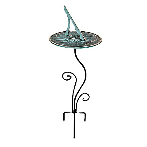 Rome Industries®  Flowerbed Sundial Pedestal Base