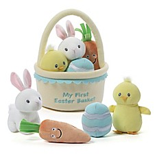 image of Gund® My 1st Easter Basket 5-Piece Playset