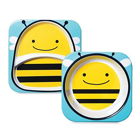SKIP*HOP\u0026reg; Melamine Tableware - Bee  sc 1 st  buybuy BABY & SKIP*HOP® Melamine Tableware - Bee - buybuy BABY