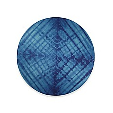 image of Tribe West Indigo Shibori Round Play Mat in Blue