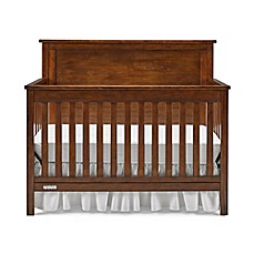 Fisher PriceR Quinn 4 In 1 Convertible Crib Rustic Brown