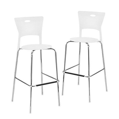 LumiSource Mimi Stackable Bar Stool (Set of 2)
