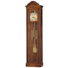 image of Howard Miller Ashley Floor Clock in Yorkshire Oak