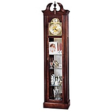 image of Howard Miller Cherish Floor Clock in Windsor Cherry