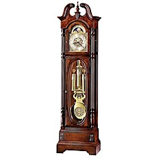 image of Howard Miller Stewart Anniversary Floor Clock in Windsor Cherry
