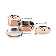 image of mauviel mu0027150s copper 5piece cookware set - Mauviel