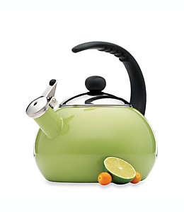 Tetera de 2.36 L Farberware® Luna, en verde