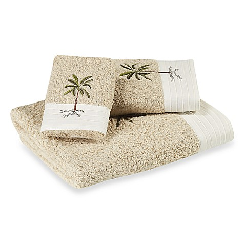 Croscill 174 Fiji Bath Towel Collection In Natural Bed Bath