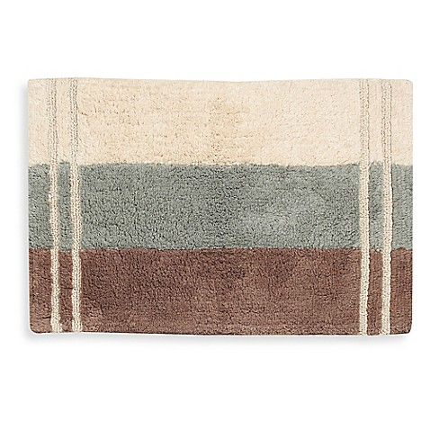 croscill 174 fairfax bath rug in aqua bed bath beyond