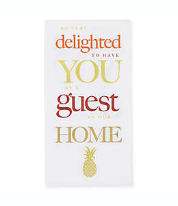 Toallas desechables de papel, Happy Pineapple Creative Converting™ 16 piezas