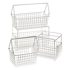 image of Two-Basket Slide Out Organizer
