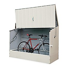 image of Trimetals 6-Foot x 3-Foot Storage Shed