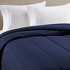 image of Equip Your Space Solid Comforter in Navy