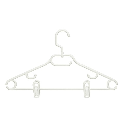 Honey-Can-Do® 3-pack Recycled Hangers with Clips