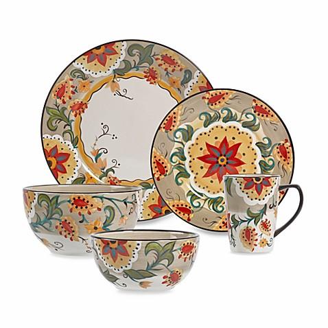 Charming Tabletops Unlimitedu0026reg; Odessa Round Dinnerware Collection