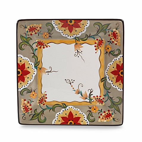 Tabletops Unlimited® Odessa Square Dinner Plate