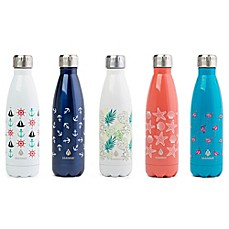 image of Manna™ Attribute Vogue® 17 oz. Stainless Steel Double Wall Water Bottle Collection