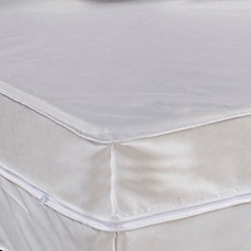 image of Everfresh Waterproof Bed Protector Set in White