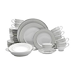 image of Mikasa® Parchment 42-Piece Dinnerware Set