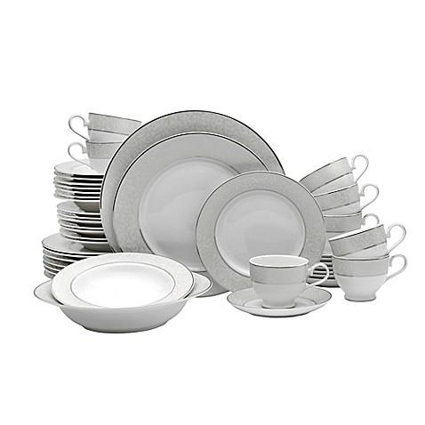 Mikasa\u0026reg; Parchment 42-Piece Dinnerware Set  sc 1 st  Bed Bath \u0026 Beyond & Mikasa® Parchment 42-Piece Dinnerware Set - Bed Bath \u0026 Beyond