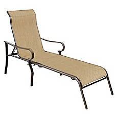 Never Rust Aluminum Chaise Lounge in Bronze  sc 1 st  Bed Bath u0026 Beyond : chaise lounge chair outdoor - Cheerinfomania.Com