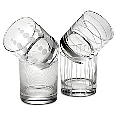 image of Mikasa® Cheers Double Old Fashioned Glasses (Set of 4)