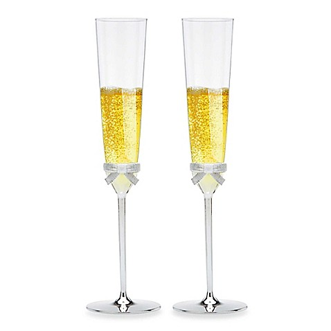 kate spade new york Grace Avenue™ Toasting Flutes (Set of 2)