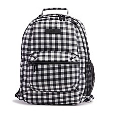 image of Ju-Ju-Be® Be Packed Gingham Backpack in Onyx