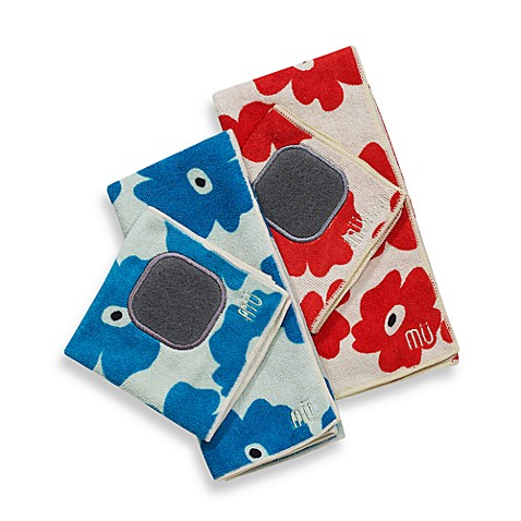 MU Kitchenu0026trade; Poppy Kitchen Towel And Dish Cloth