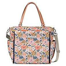 image of Petunia Pickle Bottom® City Carryall Diaper Bag in Wildflowers of Westbury