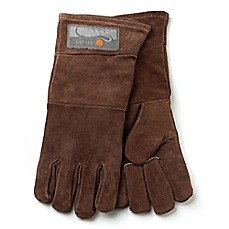 image of Outset® Leather Grill Gloves in Brown