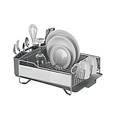 KitchenAid® Full Size Dish Rack In Light Grey