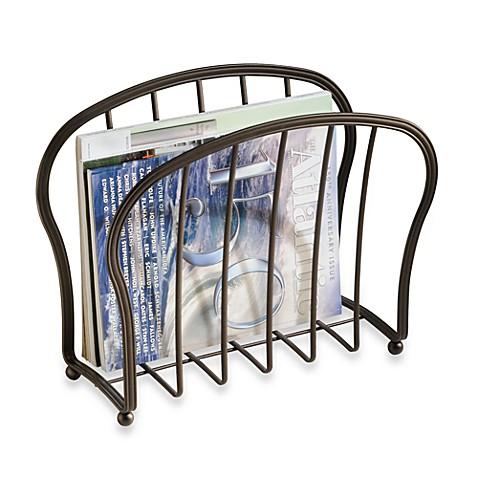 Interdesign Astoria Magazine Rack Bed Bath Beyond