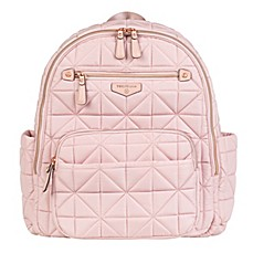 image of TWELVElittle Companion Backpack Diaper Bag in Pink Blush