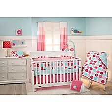 image of Little Bedding by NoJo® Tickled Pink Crib Bedding Collection