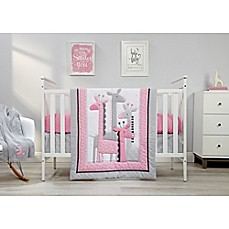 Image Of Little Love By NoJoR Giraffe Time 4 Piece Crib Bedding Set In