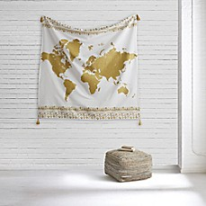 World map tapestry bed bath beyond style co op world map tapestry gumiabroncs Images