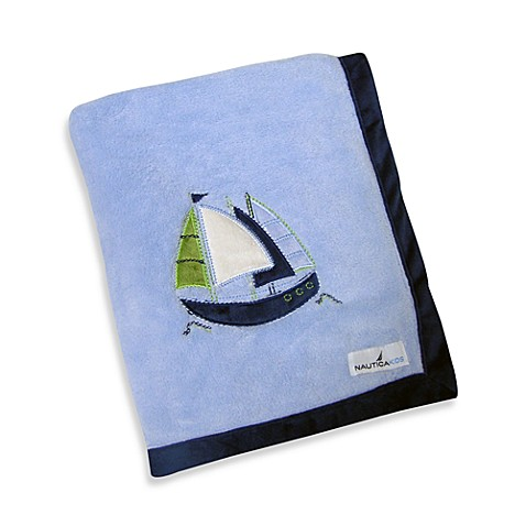 Nautica Kids® Zachary Fleece Blanket