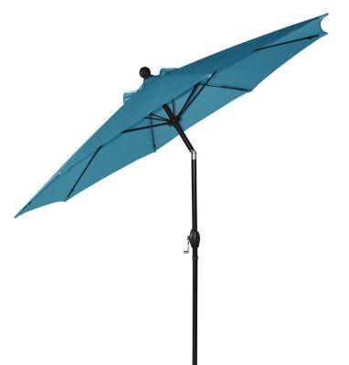 destination summer 9 foot tilting patio market umbrella - Patio Umbrellas