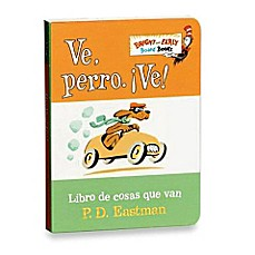image of Dr. Seuss' VePerroVe! in Spanish Translation of Go, Dog, Go! Board Book