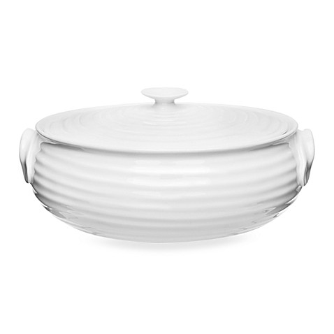 Sophie Conran for Portmeirion®  Small Oval Covered Casserole in White