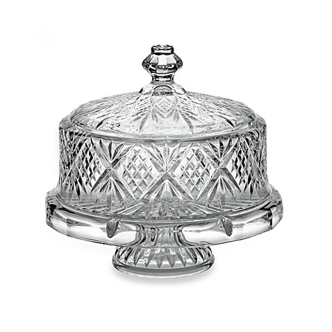 Godinger Dublin Crystal 4- in -1 Footed Cake Plate with Dome Cover  sc 1 st  Bed Bath \u0026 Beyond & Godinger Dublin Crystal 4- in -1 Footed Cake Plate with Dome Cover ...