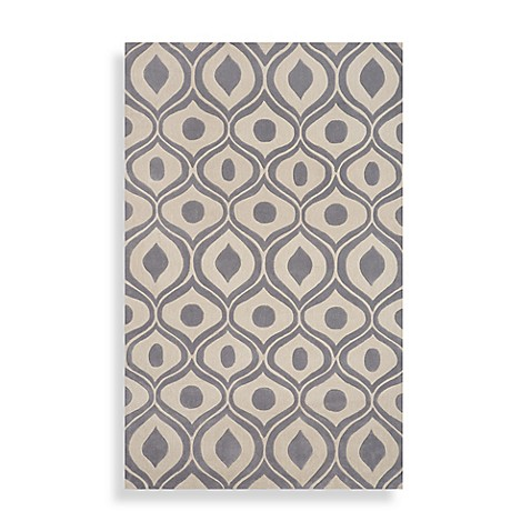 Momeni Bliss 2-Foot x 3-Foot Area Rug in Grey